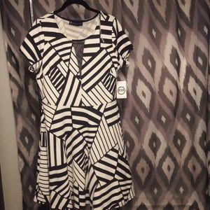 Fashion to Figure short sleeved dress